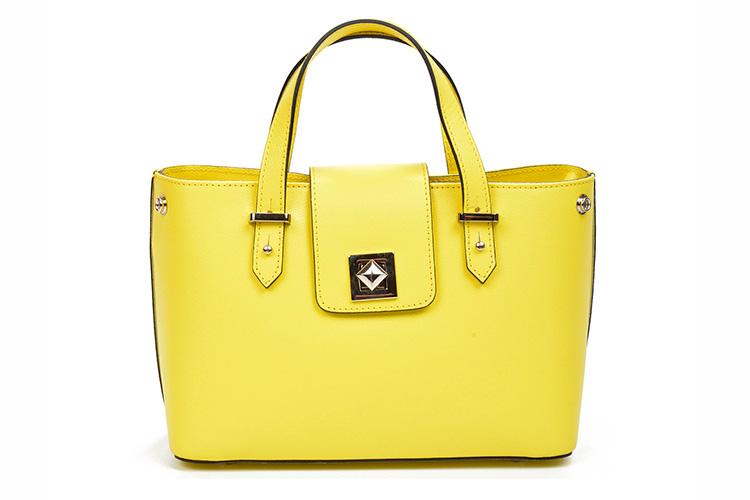 bolsos de colores con descuento en primeriti. bolso amarillo