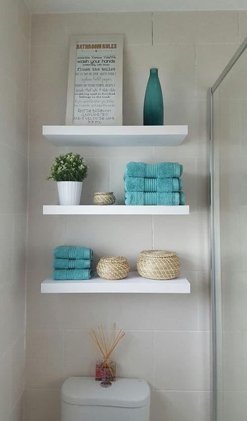 Decoraci n ba os toallas de colores hogar primeriti for Adornos con toallas