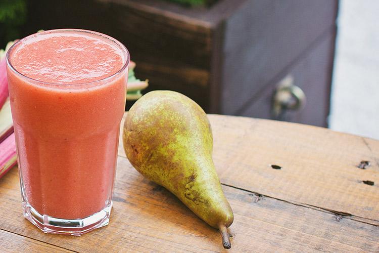 smoothies de fruta para verano, recetas