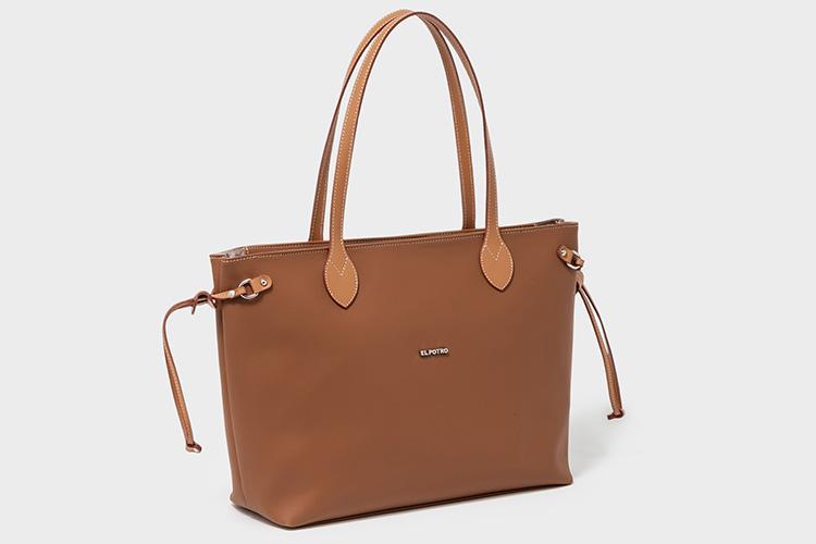 bolsos de piel de El Potro en Primeriti. bolso marrón