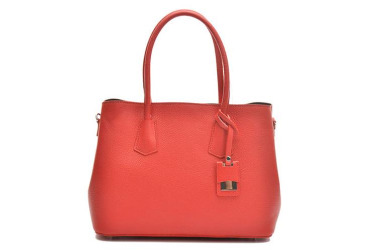 cómo cuidar los bolsos de piel Anna Luchini en Primeriti bolso rojo