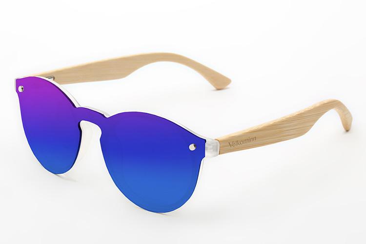 gafas de sol con cristales de colores vilkominn en primeriti sin monturas