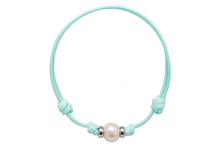 perlas en primeriti naruki pearls pulsera cuerda color