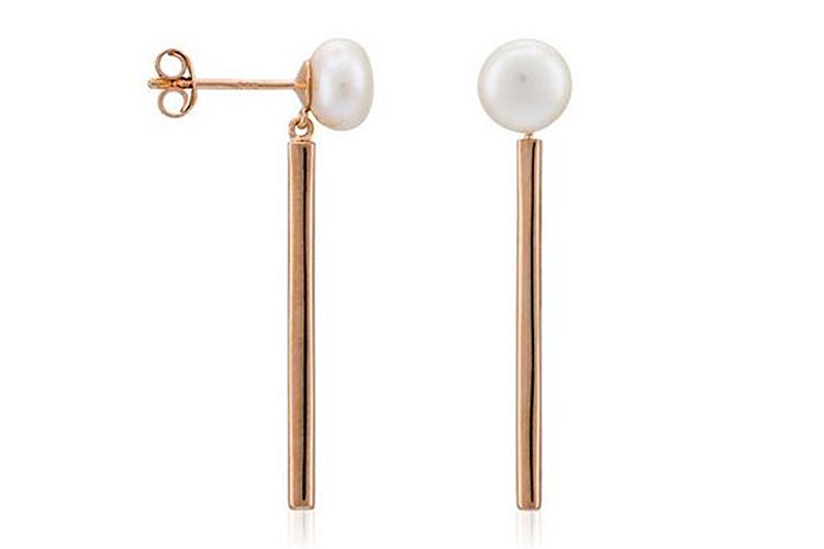 perlas en primeriti naruki pearls pendientes de invitada