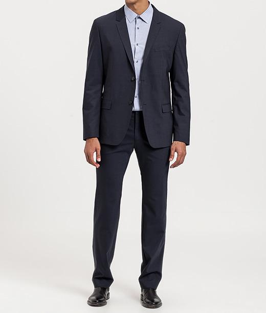 Trajes de Calvin Klein con descuento rayas azul
