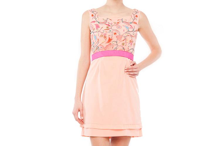 vestdos cortos estampados de niza en primeriti. vestido liso y estamapdo