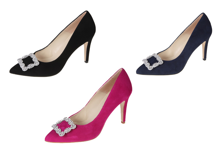 zapatos de Carrie en Sexo en Nueva York salones hebilla