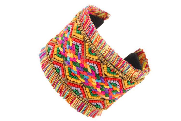 Complementos de colores brazalete africano