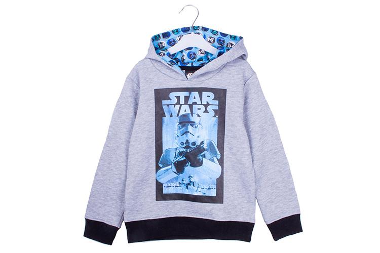 ropa de niños con descuentos en primeriti. sudadera star wars