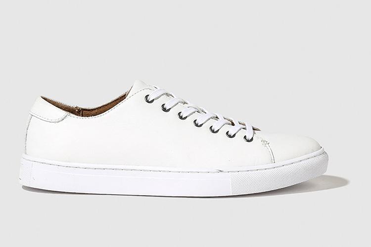 Calzado de otoño 2017 de Polo Ralph Lauren con descuento. Zapatillas blancas de hombre