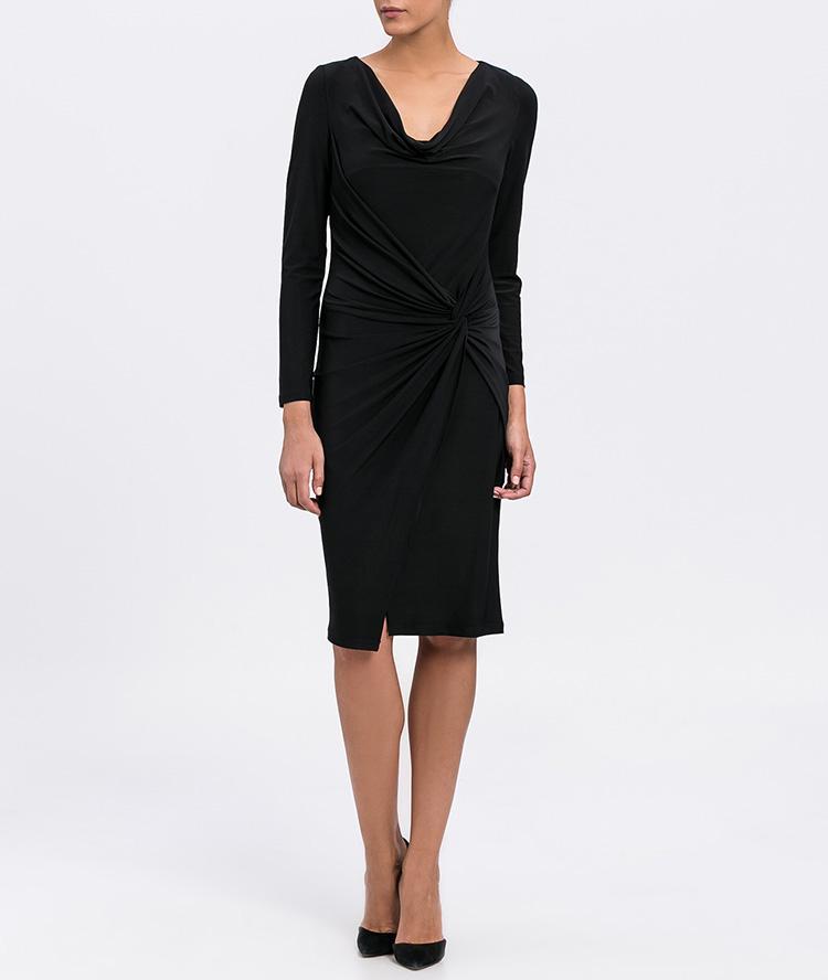 Tu vestido negro de Cabotine en Priemriti. Fruncido