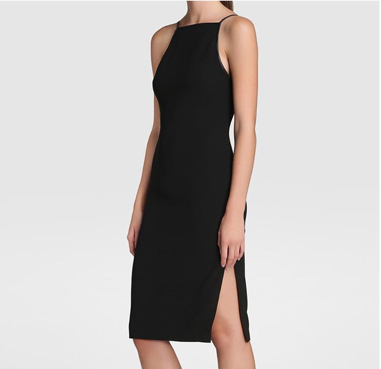 Vestido negro para dia