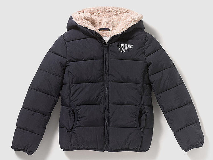 Pepe Jeans con descuento abrigo acolchado niña