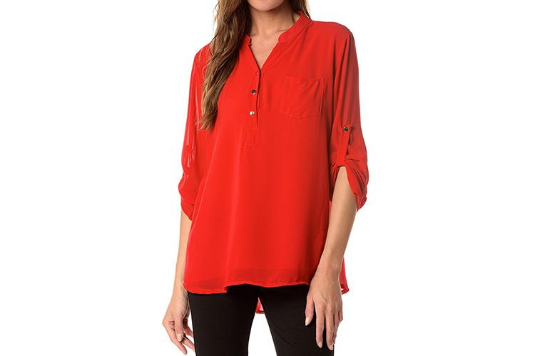 Blusas en Primeriti, roja