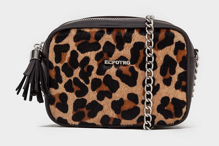 Black Friday bolsos de el potro en Primeriti. Bandolera animal print