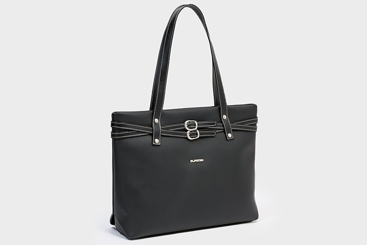 Black Friday bolsos de el potro en Primeriti. Shopper negro