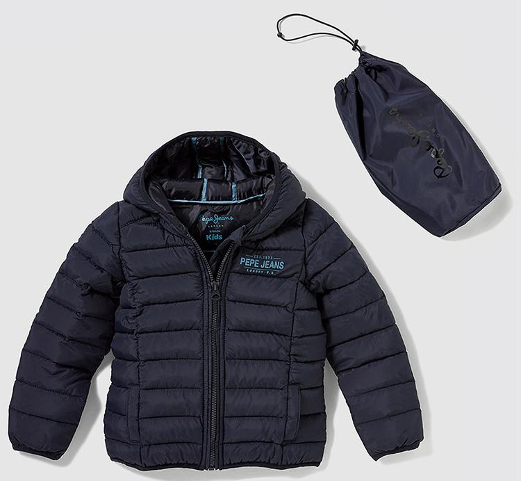 Pepe Jeans con descuento abrigo acolchado niño