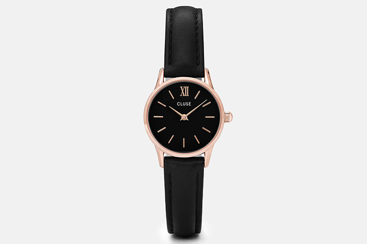 Relojes CLUSE con descuento en Primeriti. Reloj CLUSE negro con esfera negra