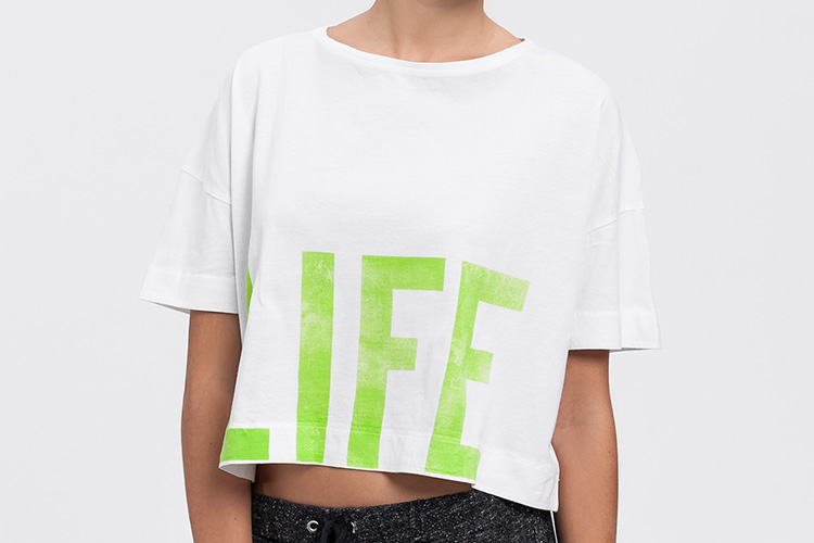 the hip tee con descuento. Camiseta LIFE