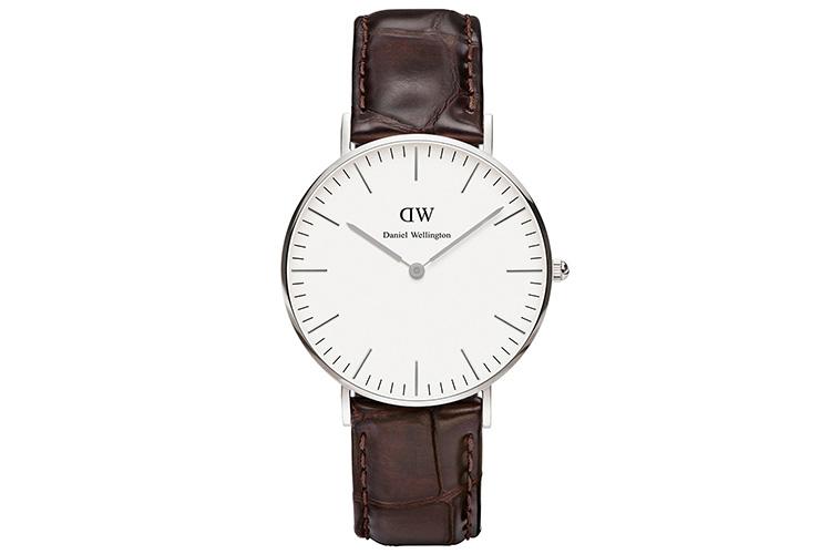 Relojes CLUSE y Daniel Wellington con descuento. Reloj marrón de piel