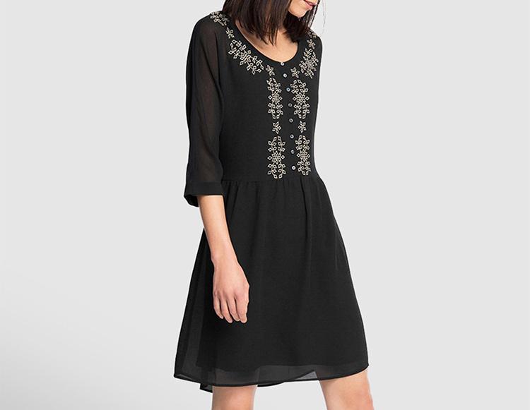 Prendas de ESPRIT. Vestido negro