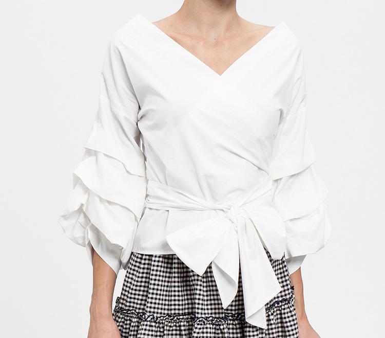 Prendas por menos de 25 euros. Blusa blanca