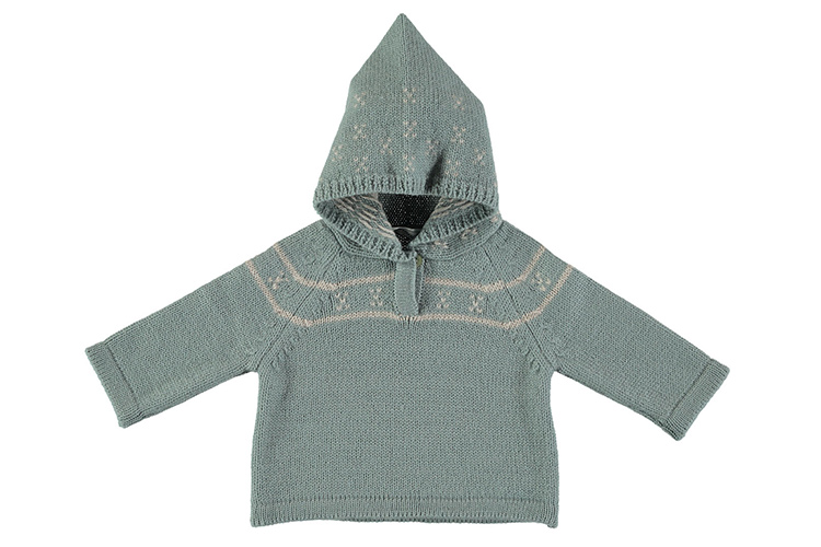 Regalos para recién nacidos. Jersey con capucha