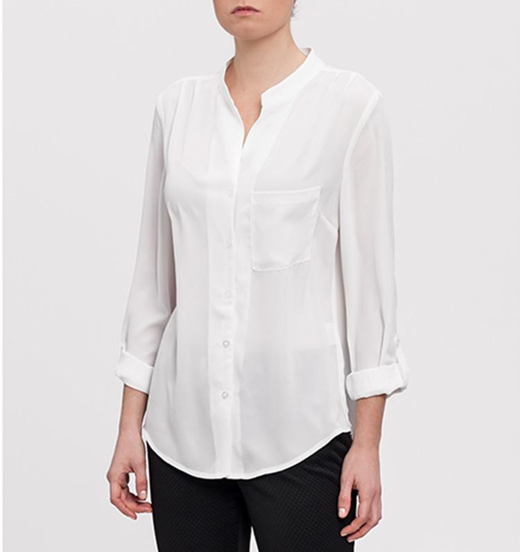 Look perfecto. Blusa blanca,