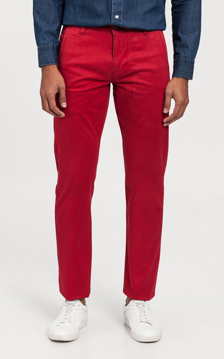 Moda hombre dockers rojos