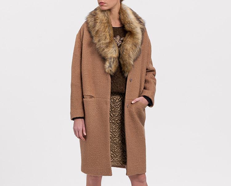 Prendas perfectas. Abrigo marrón