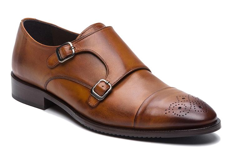 Zapatos de piel regalo de hombre para San Valentín