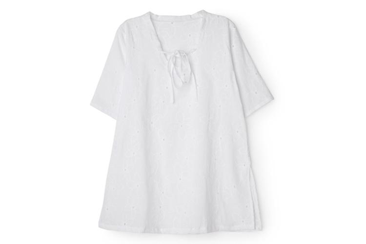 bañadores para niños. Vestido Blanco
