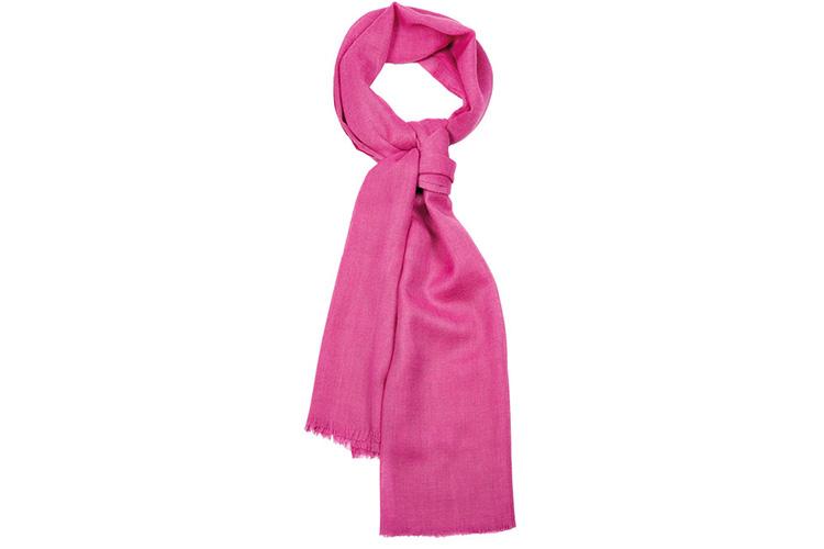 Consejos para llevar un pañuelo. Devota&Lomba rosa