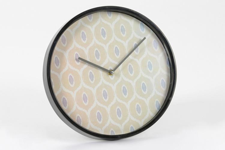 Detalles de decoración. Reloj