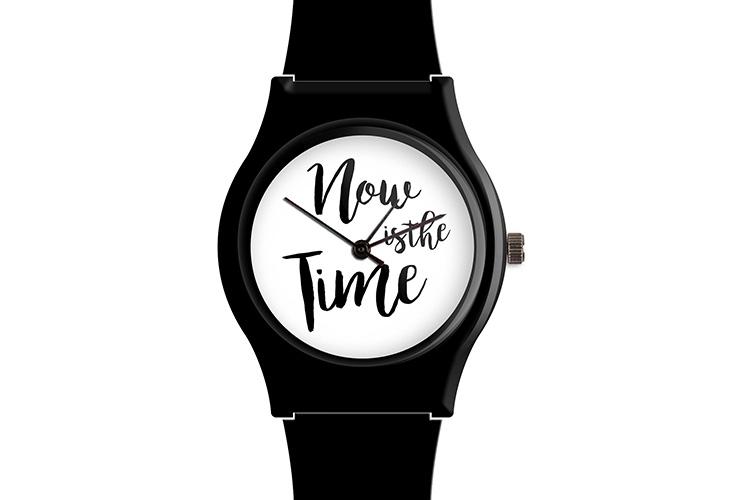 Relojes originales. Reloj correa negra