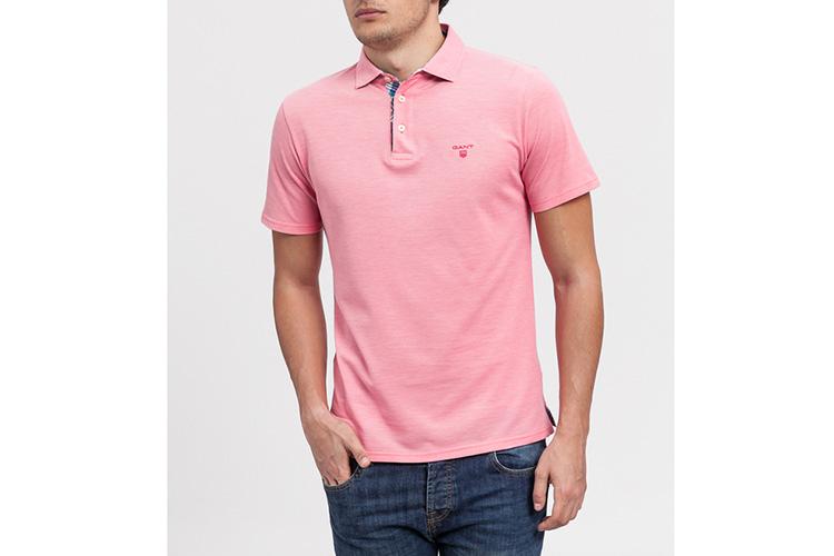 Gant. Polo rosa
