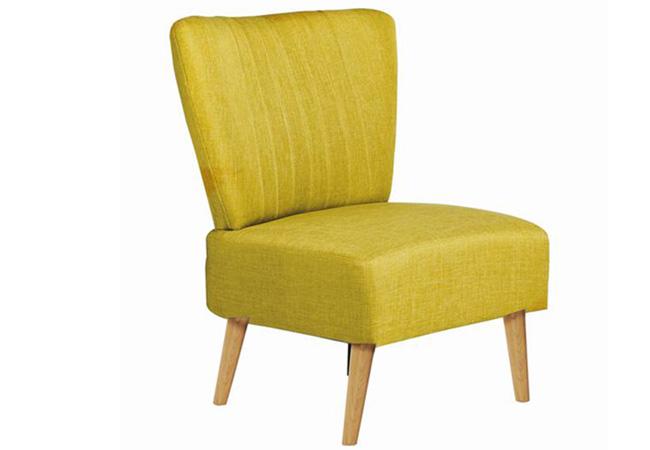 Muebles de jardín. Butaca amarilla