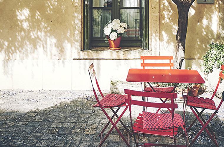 Muebles de jardín. Portada