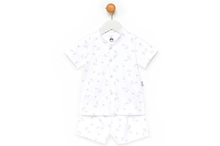 Pijamas para niños. Pijama bebé blanco