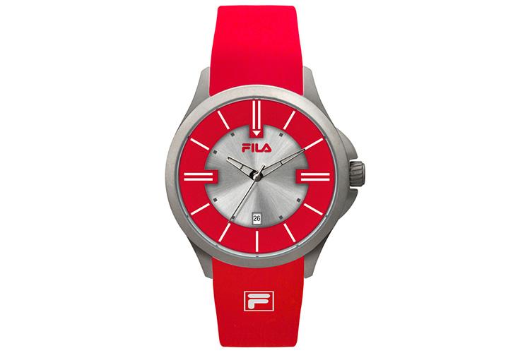 Reloj. Reloj rojo