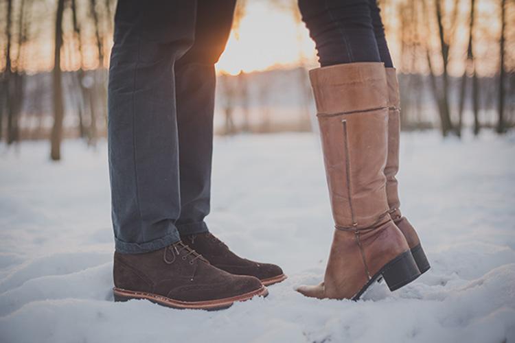 zapatos de piel. Portada
