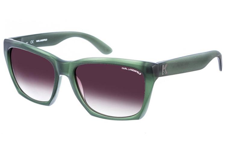 Gafas de primavera. Verdes hombre