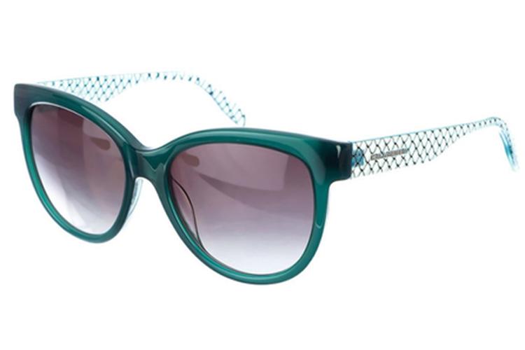 Gafas de primavera. Verdes mujer