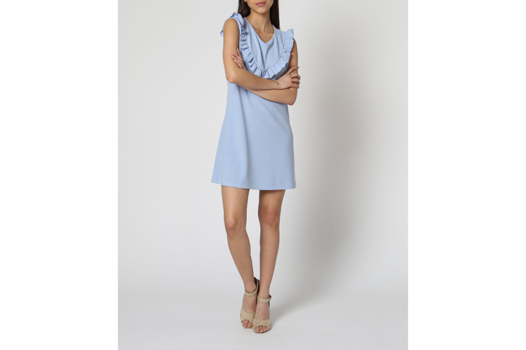 Vestidos. Vestido azul