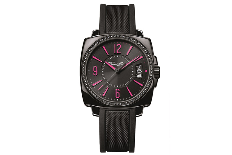 Relojes. Negro