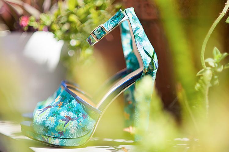 Sandalias de verano. Portada