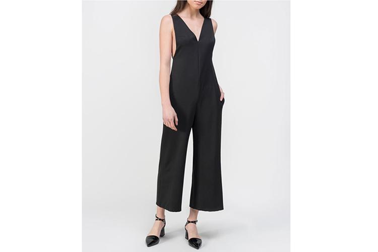 Vestidos. Mono negro