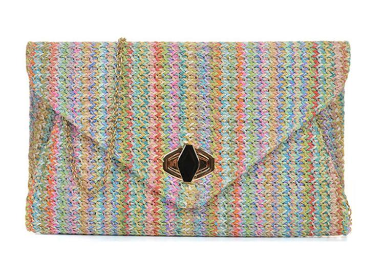 Bolsos. Pochette multicolor