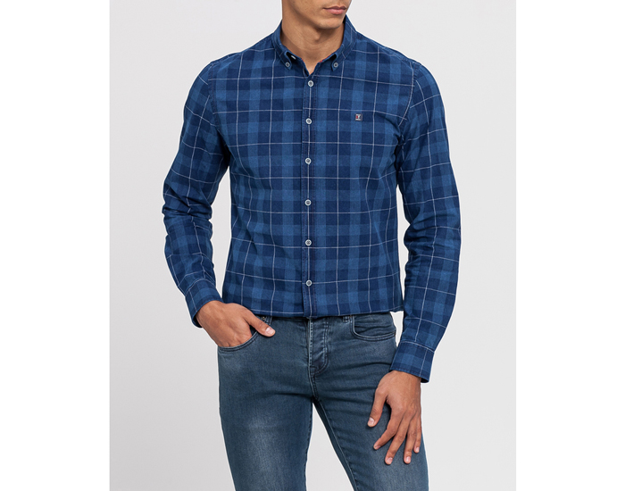 Moda para hombre: Camisas de cuadros Moda Primeriti