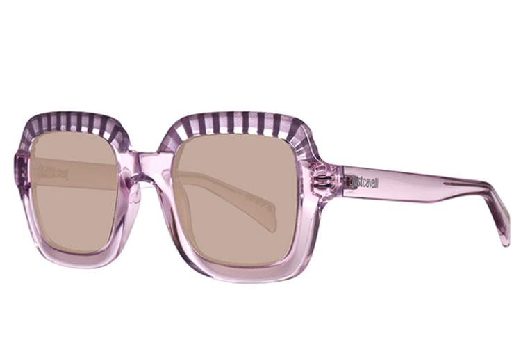 Gafas de sol. Gafas cuadradas rosas